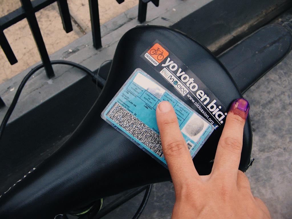 A Votar En Bici – Rumbo al Bicentenario