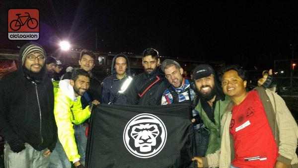 Cicloaxion visitó la Semana de la Bicicleta en Bogotá