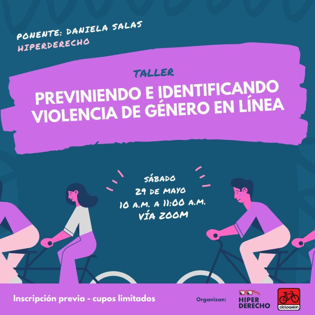 Taller: Previniendo e identificando la violencia de género en línea