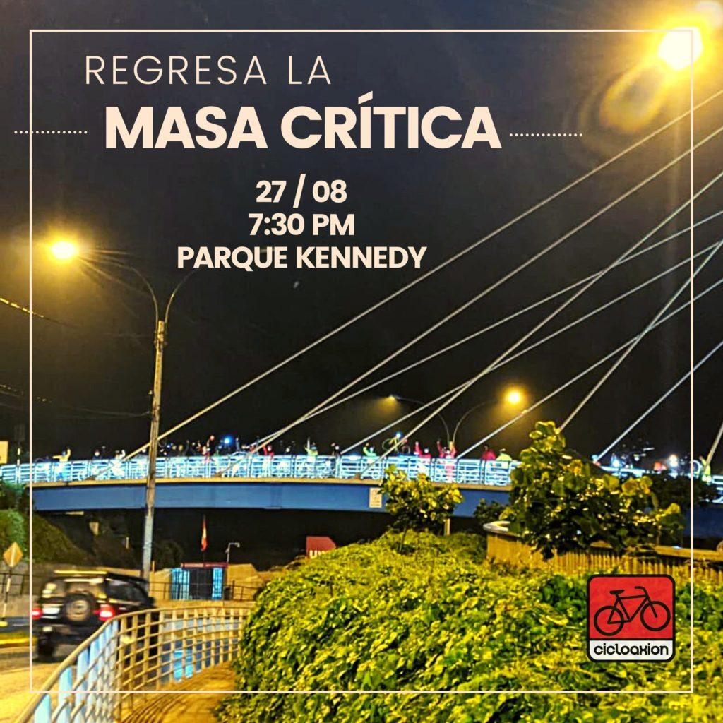 Masa Crítica – Agosto 2021